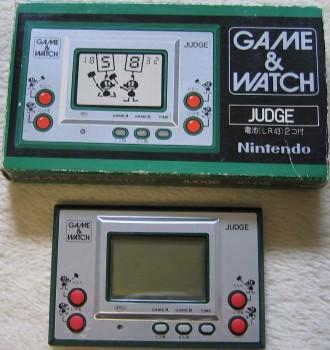 GameWatch Judge