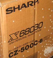 x68k XVI (箱はx68030)