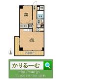 2017/06/09 セルテス3 西部屋 間取り図/間取図