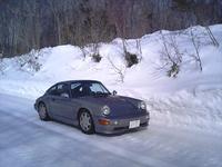 雪道ドライブ 2011/02/06 19:36:49