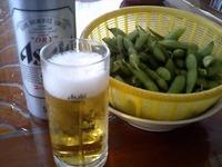 枝豆とビール 2011/08/13 16:52:43