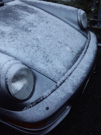 初雪ドライブ 2011/11/28 07:15:02