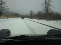 雪中ドライブ 2012/01/29 15:15:21