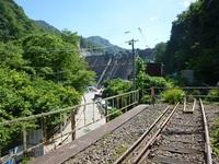 吾妻線と八ッ場ダム