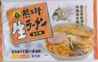 今日の昼飯 熊五郎ラーメン(パック麺)