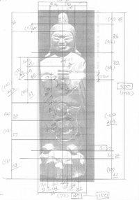 円空仏 模刻の世界 笠松町慈眼寺 毘沙門天を彫る 1