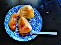 9月10日 金曜日 晴 無風 柿を採り始めた