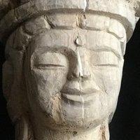 十一面観音を彫る 29 顔の美容整形