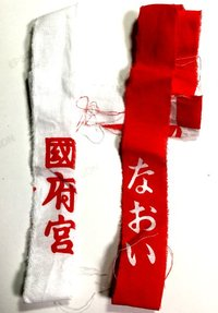 国府宮神社 儺追布と神男