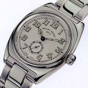 レビュートーメンスポーツ 腕時計 30's Ref.15000.3132 正面カタログ写真