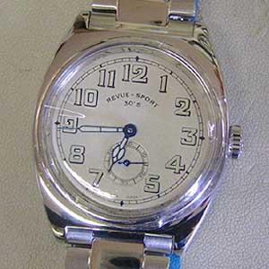 レビュートーメンスポーツ 腕時計 30's Ref.15000.3132 正面実物写真